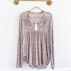Gentle Fawn Boutique Cassidy Linen Long Sleeve Top